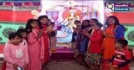 সলঙ্গায় স্বরস্বতী পুজা অনুষ্ঠিত