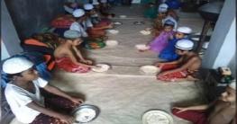 অনুদানের টাকায় স্থাপনা, মুড়ি খেয়েই বেঁচে আছে শতাধিক এতিম