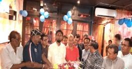 উল্লাপাড়ায় সহকারি অধ্যাপক শামিম হাসান কে সংবর্ধনা