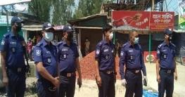 জন-সমাগম ঠেকাতে সলঙ্গা থানা পুলিশের অভিযান অব্যাহত