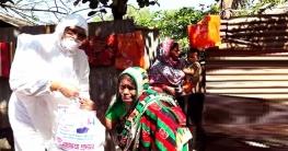 শাহজাদপুরে ২হাজার দরিদ্র পরিবারের মাঝে খাদ্য বিতরণ করেন এমপি