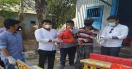 সিরাজগঞ্জ জেলা ছাত্রকল্যাণ পরিষদের খাদ্যসামগ্রী বিতরণ