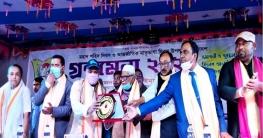 উল্লাপাড়ায় ৪ দিন ব্যাপী গ্রন্থমেলার সমাপনী ও পুরস্কার বিতরণ