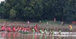 সলঙ্গায় গাঢ়ুদহ নদীতে ৫ দিন ব্যাপী নৌকা বাইচ শুরু আজ