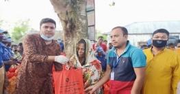 উল্লাপাড়ায় ঈদের শুভেচ্ছা বিনিময় করেনে ইউপি চেয়ারম্যান
