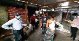 সিরাজগঞ্জে অস্বাস্থ্যকর পরিবেশে মিষ্টি তৈরীর দায়ে জরিমানা