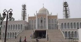 বেলকুচিতে দৃষ্টিনন্দন মসজিদ আজ জুমার নামাজ দিয়ে উদ্বোধন হবে