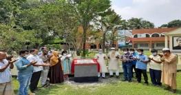 সিরাজগঞ্জ জেলা পরিষদের সৌন্দর্যবর্ধন কাজের উদ্বোধন