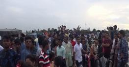 ঈদে সিরাজগঞ্জের চলনবিলে দর্শনাথীদের ঢল