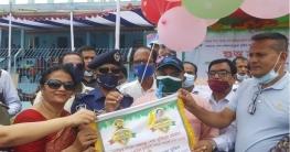 সিরাজগঞ্জে বঙ্গবন্ধু ও বঙ্গমাতা গোল্ডকাপ টুর্নামেন্ট উদ্বোধন