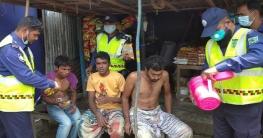 সিরাজগঞ্জে অজ্ঞান পার্টির খপ্পরে ১০ শ্রমিক কে উদ্ধার করলো পুলিশ