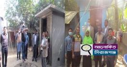 শাহজাদপুর পৌরসভার ৫টি বস্তি পরিদর্শন করলেন টিম লিডার আজাহার আলী