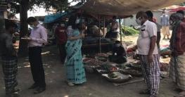 পৃথক অভিযানে স্বাস্থ্যবিধি না মানায় সিরাজগঞ্জে ১০১ জনকে জরিমানা