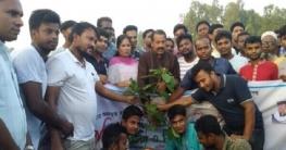 কাজিপুরে উপজেলা ছাত্রলীগের উদ্যোগে বৃক্ষ রোপণ