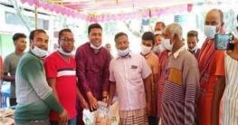 উল্লাপাড়ায় সাড়ে ৬শত কৃষকের মাঝে সার ও বীজ বিতরণ