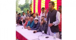 বেলকুচি উপজেলায় সেতুর নির্মাণ কাজ উদ্বোধন