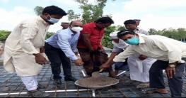 উল্লাপাড়ায় কলেজের চার তলা ভবনের ঢালাই কাজের উদ্বোধন