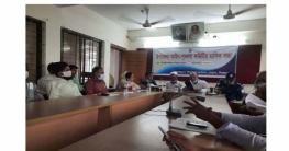তাড়াশ উপজেলা আাইন শৃংখলা কমিটির মাসিক সভা অনুষ্ঠিত