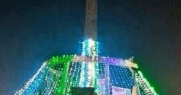 বঙ্গবন্ধুর জম্মদিনে অপরূপ সাজে উত্তরবঙ্গের প্রবেশদ্বার হাটিকুমরুল
