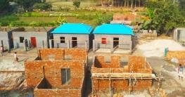 সিরাজগঞ্জে গৃহহীনরা পাচ্ছেন ৭৯৬টি ঘর