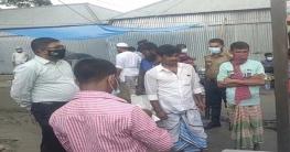 চৌহালীতে স্বাস্থ্যবিধি না মানায় ভ্রাম্যমাণ আদালতের জরিমানা