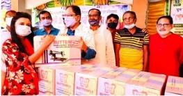 উল্লাপাড়ায় বেকার নারীদের পোশাক তৈরি প্রশিক্ষণের সমাপনী
